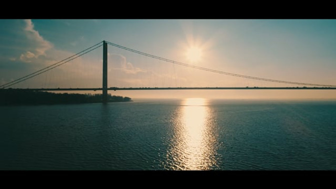 Humber Bridge Sunrise