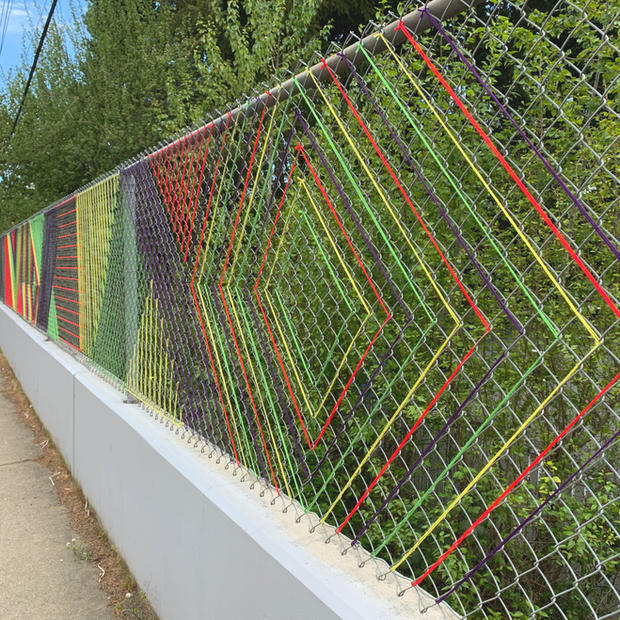 Graphic Fence