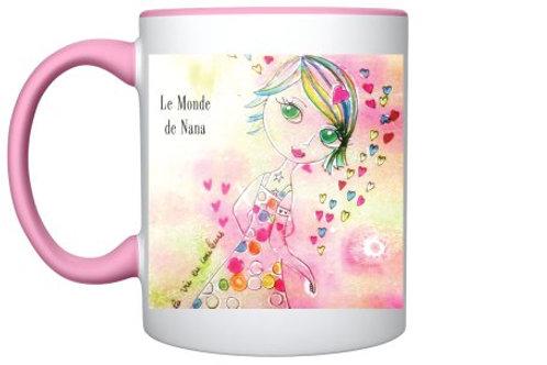 "Mug ""La vie en couleurs"""