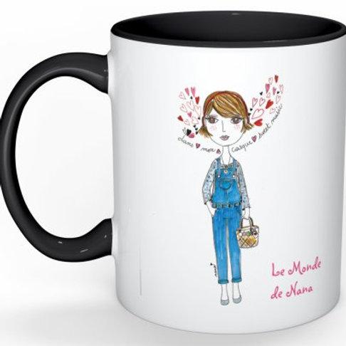 "Mug ""Dans mon casque"""