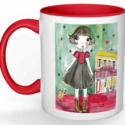 "Mug ""Amélie au grand coeur""♥"