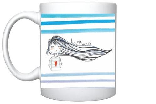 """Mug """"Happiness"""""""