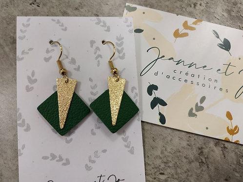 """Boucles d'oreilles """"Koko"""" - Jeanne et Jo"""