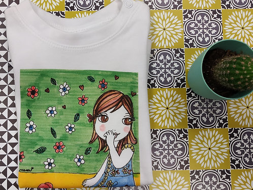 "Tee shirt Bébé ""LITTLE NANA Solenn"""