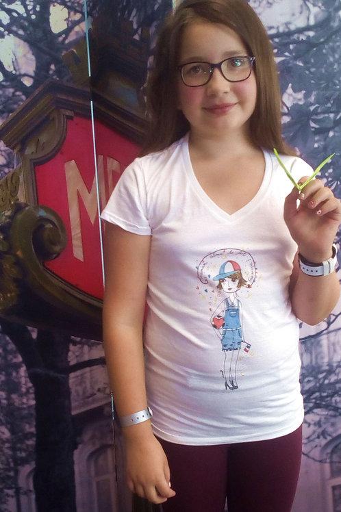 """Tee-shirt Femme """"Maman aime le Foot !"""""""