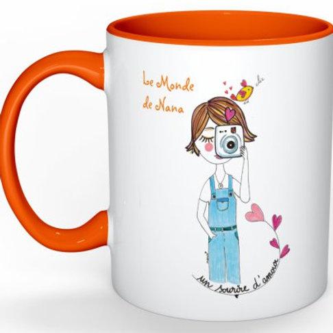 """Mug """"Sourire d'amour"""""""