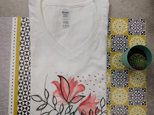 """Tee-shirt Femme """"Plaisir"""""""