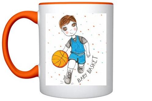 "Mug ""Baby basket"""