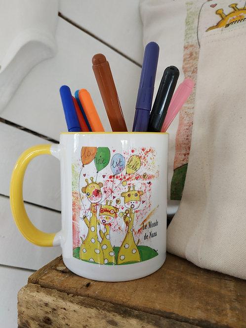 """Mug """"La vie est belle"""""""