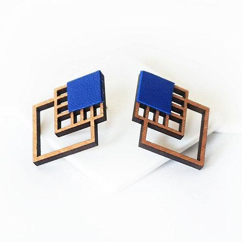 """Boucles d'oreilles """"Rubiks"""" - Martho"""