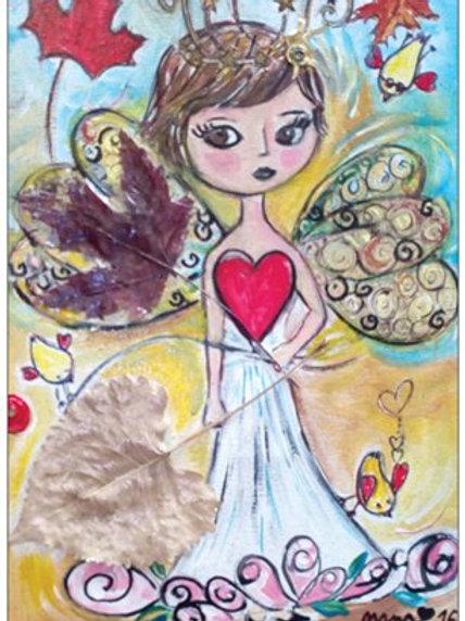 "Carte postale ""Amélie au Canada"""