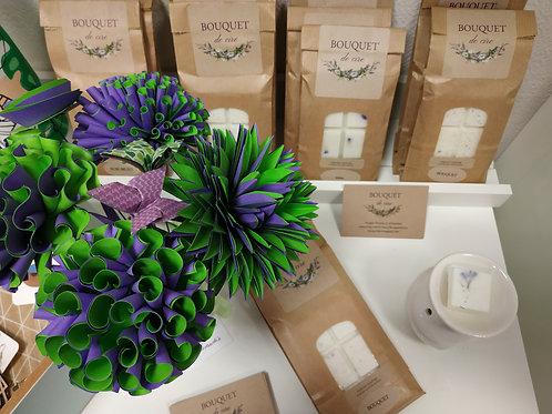 Fondants parfumés  - Bouquet de Cire