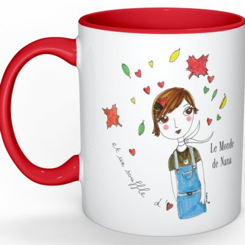 """Mug """"Un souffle d'amour"""""""