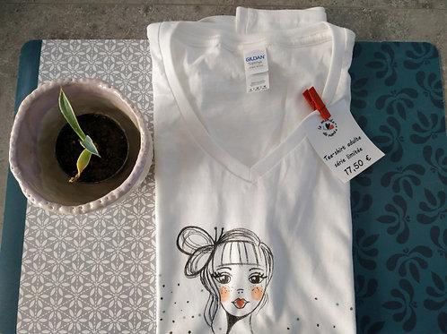 "Tee-shirt Femme ""Good feeling"""