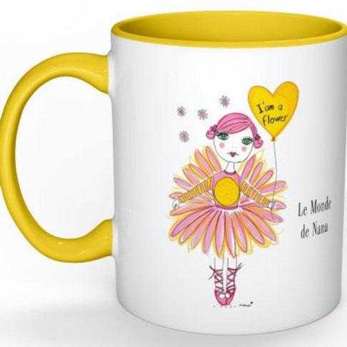 "Mug ""I'am a flower"""