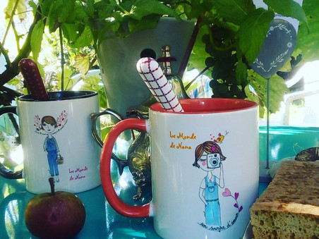 Deux nouveaux mugs pour le thé
