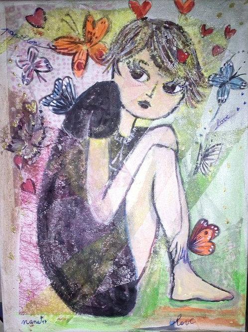 """Tableau """"Le Papillon Nana"""""""