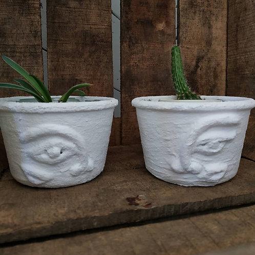 """Deux minis vases ou cache pot """"Les jumeaux"""" - collection Minimaliste"""