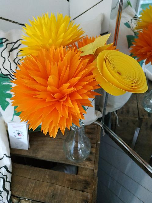 """Bouquet de fleurs """"Eclat de joie""""- Orig'azergues"""