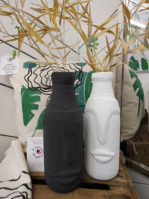 "Vase - Soliflore ""Rapa Nui"" - collection Minimaliste"