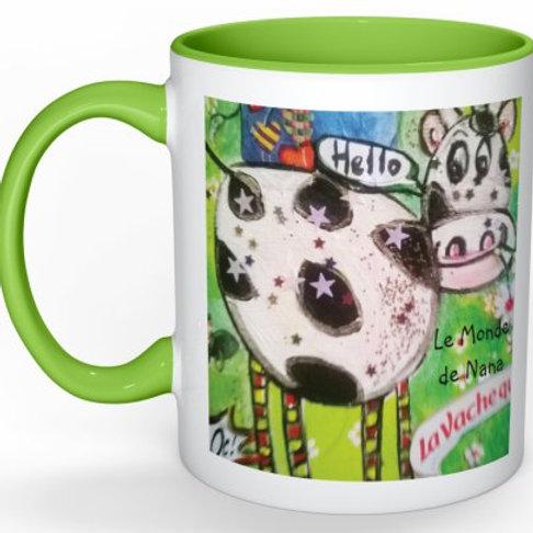 "Mug ""La vache Laureline"""