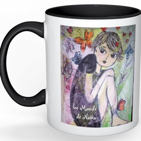 """Mug """"Le Papillon Nana"""""""