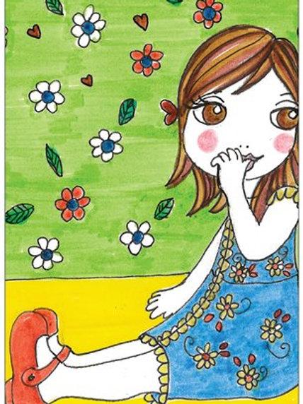 "Carte postale ""LITTLE NANA Solenn"""