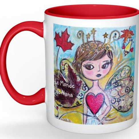"Mug ""Amélie au Canada"""