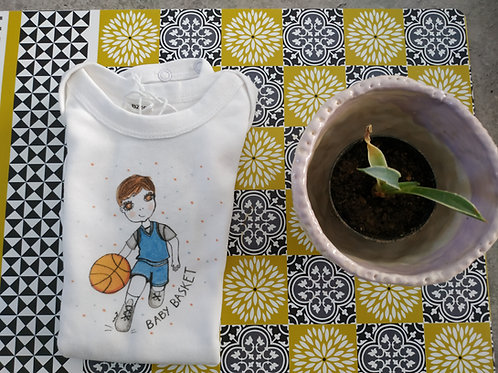 "Body bébé ""Baby basket"""