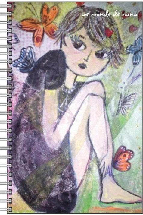 """Carnet """"Le Papillon Nana"""""""