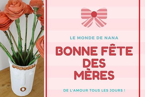 Carte Cadeau Fête des mères - 20 € ou 30 €