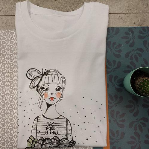 """Tee shirt enfant """"Good feeling"""""""