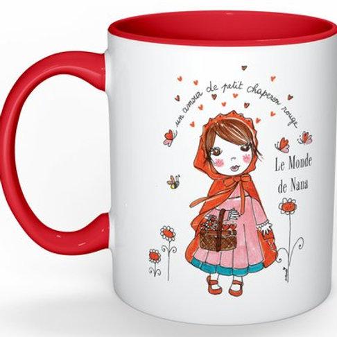 """Mug """"Un amour de petit chaperon rouge"""""""