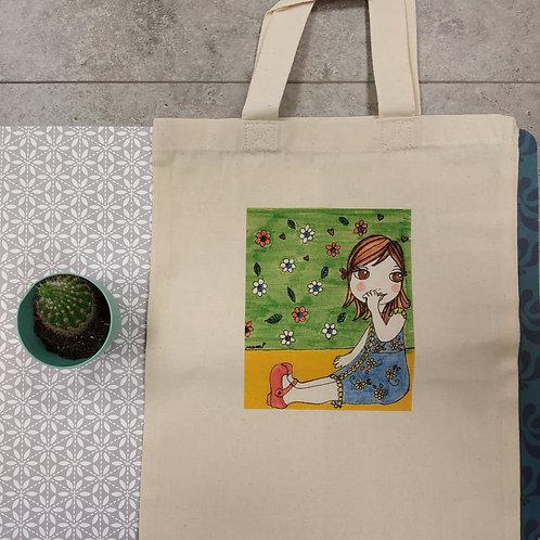 """Mini sac tote bag """"LITTLE NANA Solenn"""""""