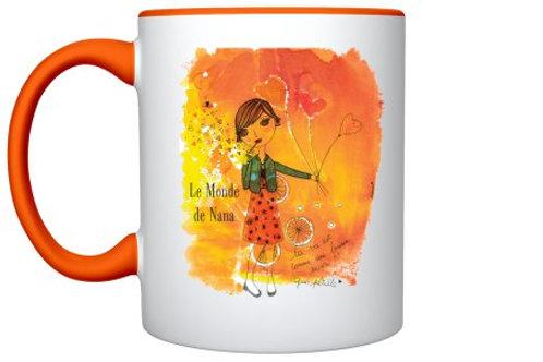 "Mug ""La vie pétille"""