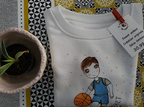 "Sweat enfant ""Baby basket"""