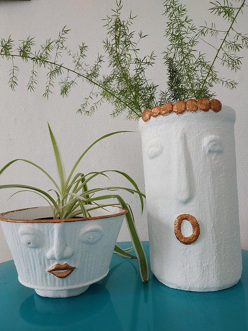 "Cache pot ""Madame"" - collection Minimaliste"