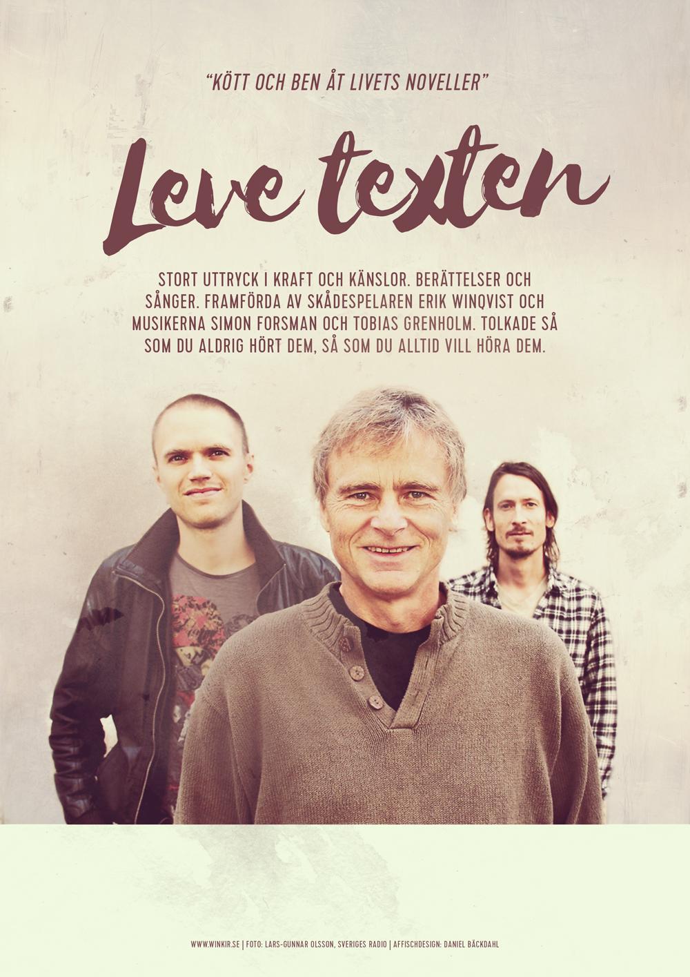 Poster - Leve texten - LOW
