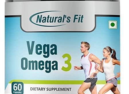 Naturals Fit Vegan Omega 3 DHA Supplement