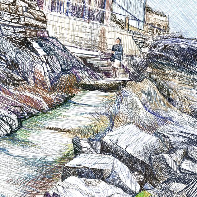 Rocks at St Ives