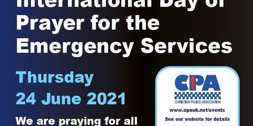 Internationaler Tag des Gebets für Blaulichtorganisationen