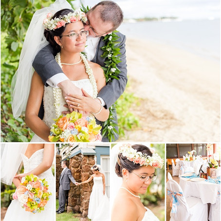 Josie & Noble - Married in Lahaina, Maui