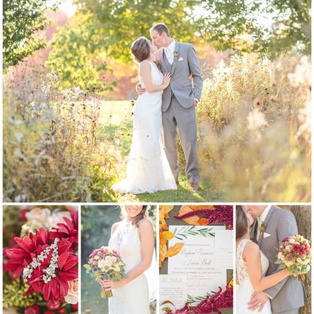 Sunny Fall Wedding in Saint Cloud