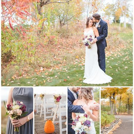 Lauren & Kyle - Fall Wedding in Door County