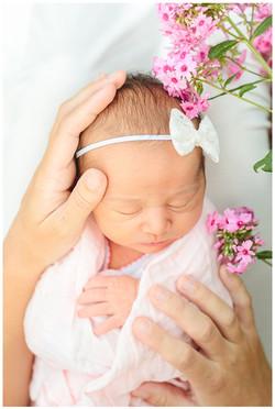 Magical newborn session at green bay bot