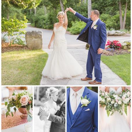 Tiffany & Don - Romantic Blush and Gold Gordon Lodge Wedding