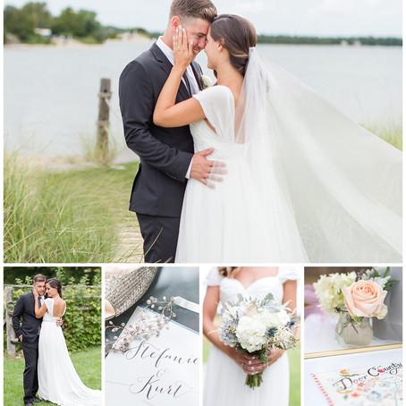 Stefanie & Kurt - Romantic Door County Wedding