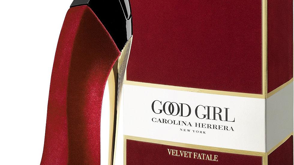 """Carolina Herrera """" Good Girl """" VELVET FATALE 80ml RED"""