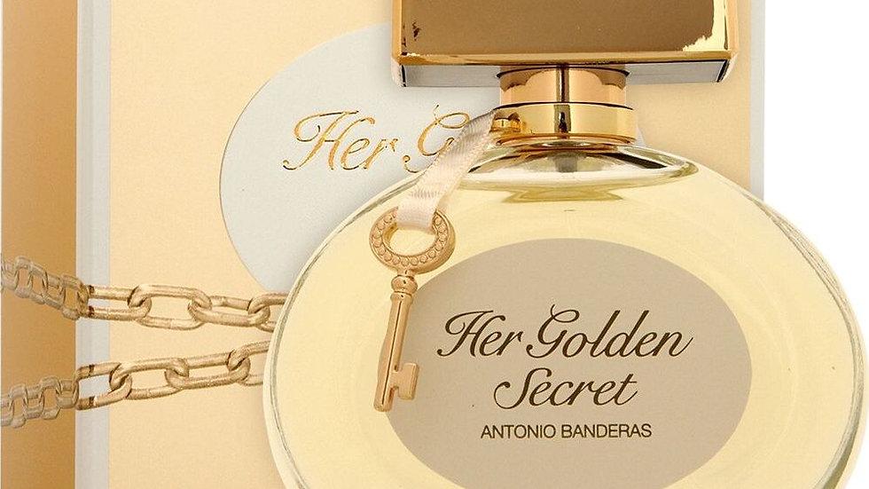 "Antonio Banderas ""Her Golden Secret"" 80ml"