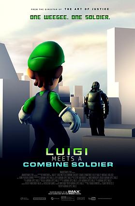 Luigi Meets a Combine Soldier - Theatric